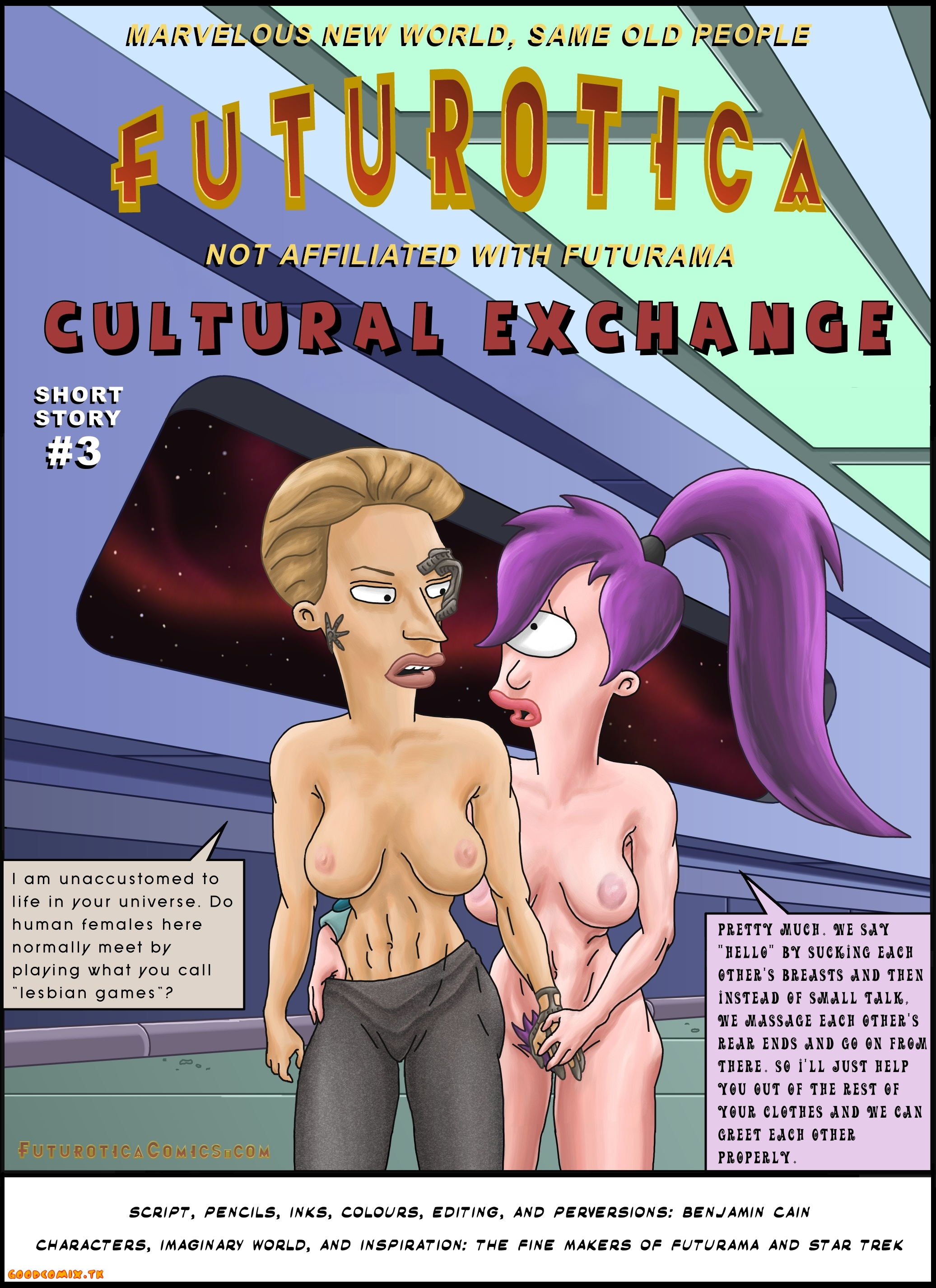Goodcomix Futurama - Futurotica - Short Story #3 - Cultural Exchange xxx porno
