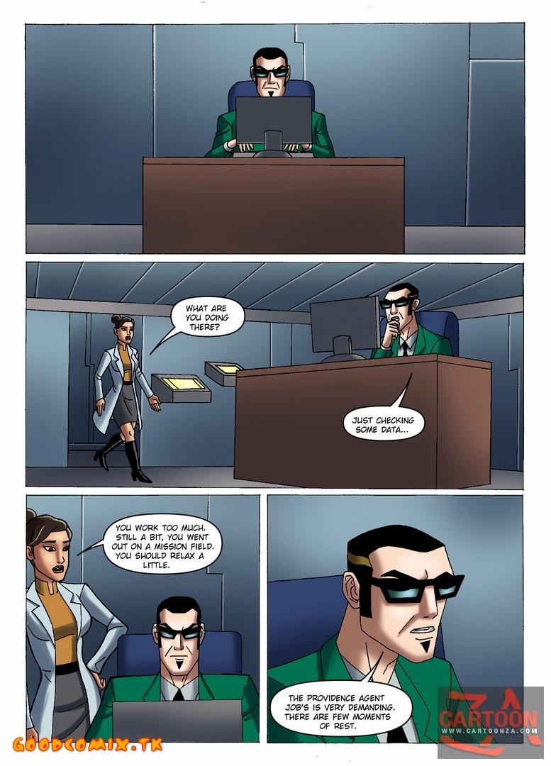 Goodcomix Generator Rex - [Cartoonza] - Doctor Rebecca Holiday at Work