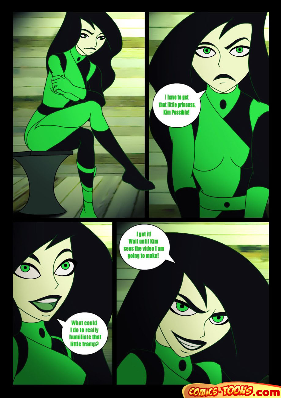 Kim Possible — [Comics-Toons] — Great Cheat by Shego xxx porno