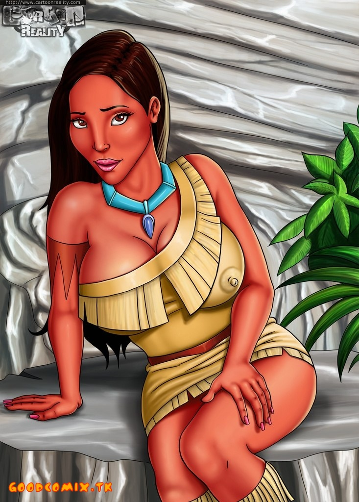 Pocahontas — [Cartoon Reality] — Home Striptease by Pocahontas xxx porno