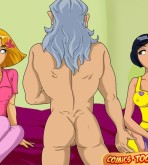 Totally Spies — [Comics-Toons] — New Experience xxx porno