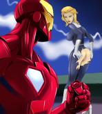 Iron Man — Fantastic Four — [Online Super Heroes] — Porno Scene xxx