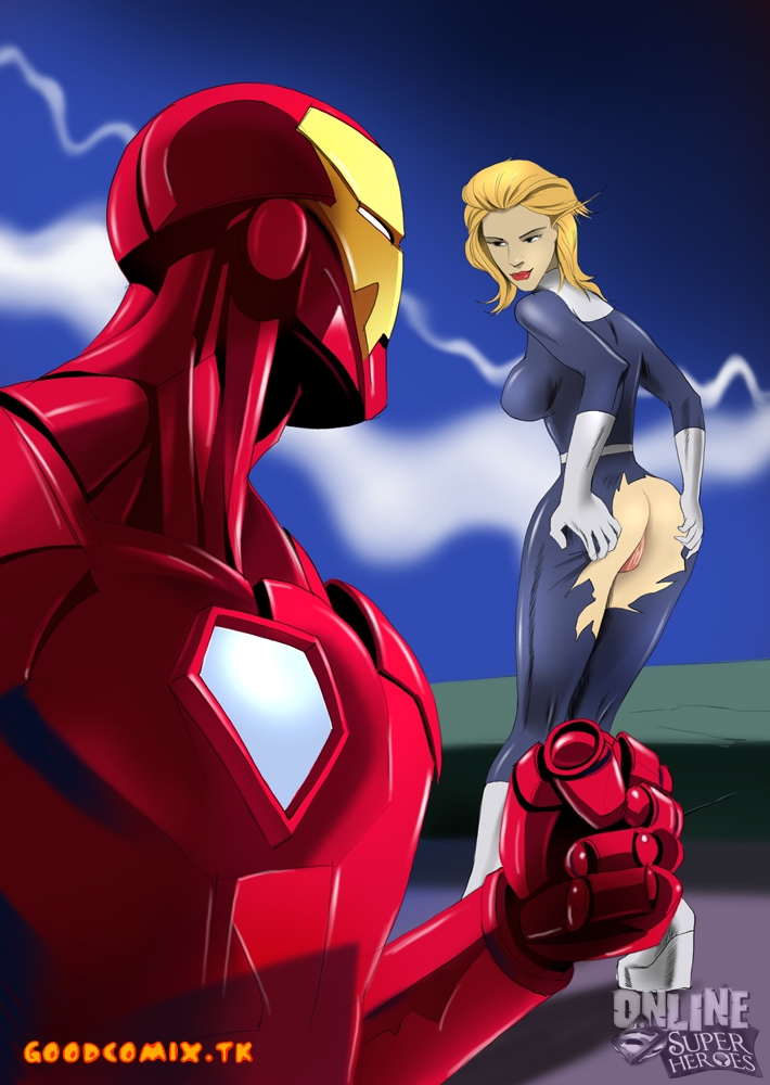 Goodcomix Iron Man - Fantastic Four - [Online Super Heroes] - Porno Scene