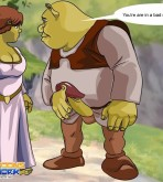 Shrek — [Cartoons Network] — Shrek and Fiona Near The Canyon xxx porno