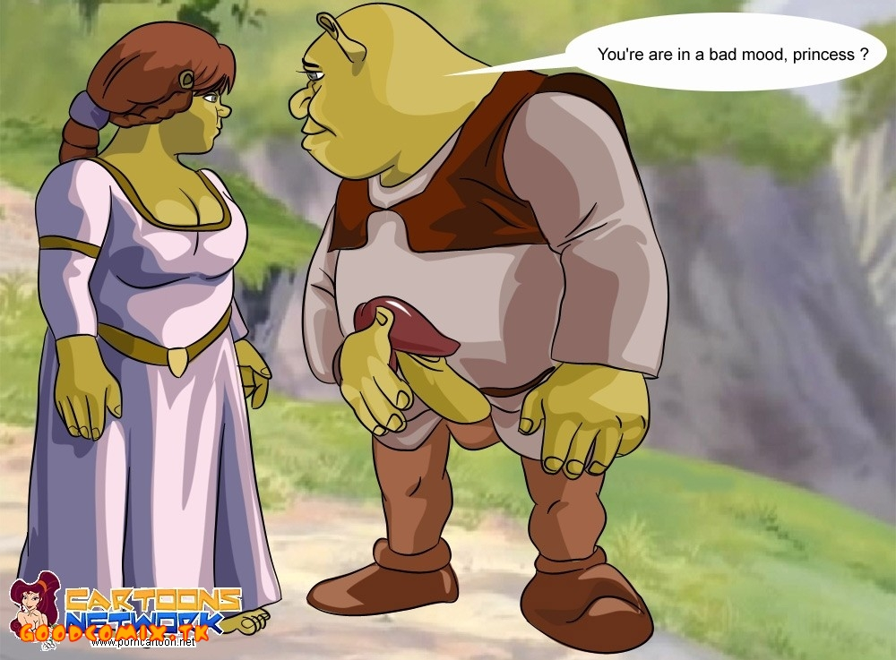 Goodcomix.tk Shrek - [Cartoons Network] - Shrek and Fiona Near The Canyon xxx porno