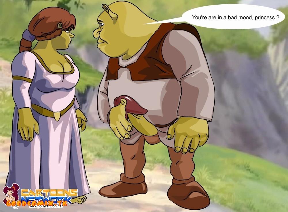 Goodcomix Shrek - [Cartoons Network] - Shrek and Fiona Near The Canyon xxx porno