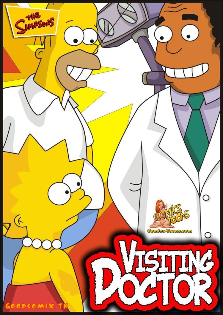 Goodcomix The Simpsons - [Comics-Toons] - Visiting Doctor xxx porno
