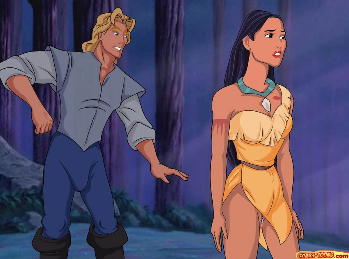 naked Disney princess pocahontas