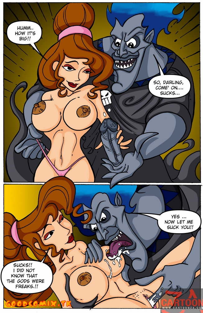 Goodcomix Hercules - [Cartoonza] - Whore Megara
