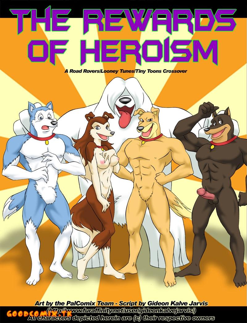 Goodcomix Crossover - [Palcomix] - Rewards of Heroism