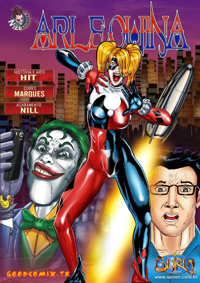 Goodcomix Batman - [Seiren] - ARLEQUINA