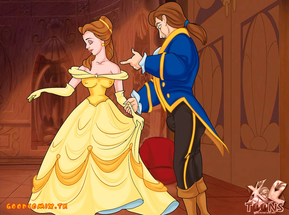 Goodcomix Beauty and The Beast - [XL-Toons] - Belle & Prince xxx porno