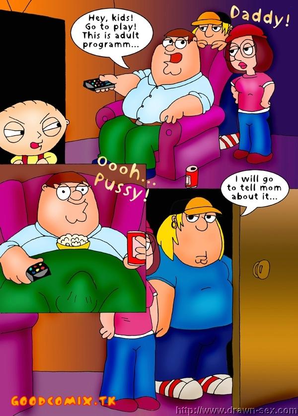 Goodcomix Family Guy - [Drawn-Sex] - Cum Shower