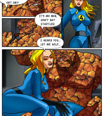 Fantastic Four — [Online SuperHeroes] — Invisible Woman gangbanged by the rest of the Fantastic Four