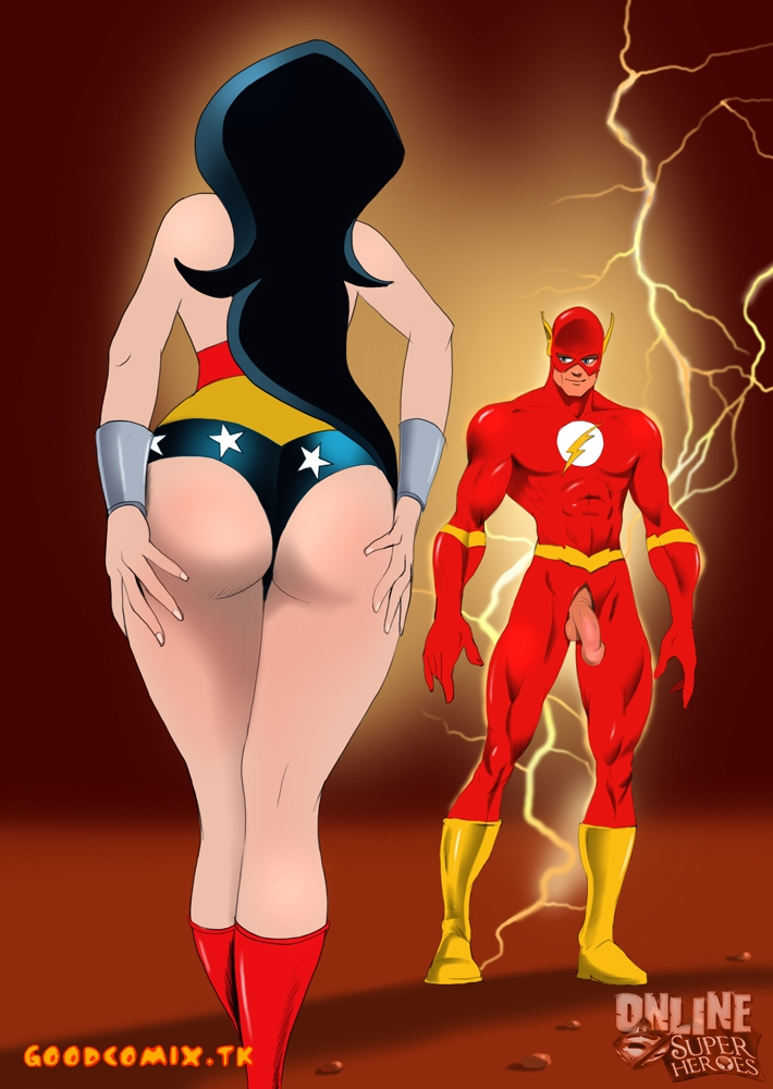 Goodcomix Justice League - [Online SuperHeroes] - Flash X Wonder Women