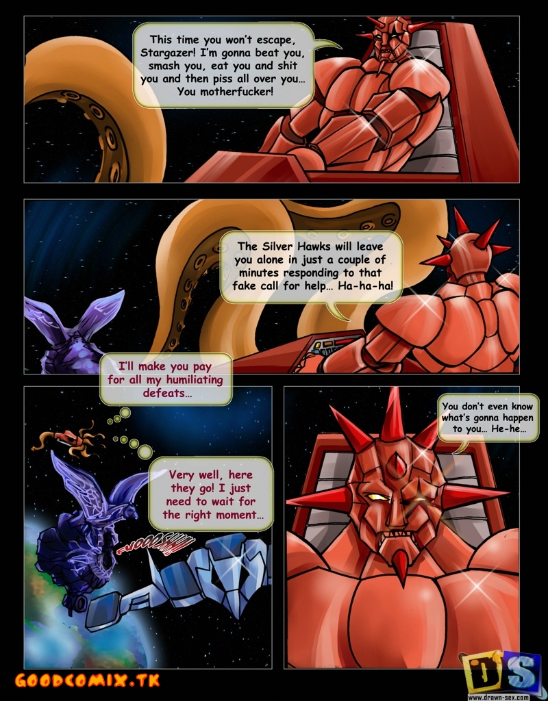 Goodcomix Silverhawks - [Drawn-Sex] - Free Time