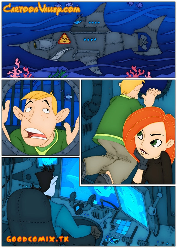 Goodcomix Kim Possible - [CartoonValley] - Prisoners: Kim and Ron