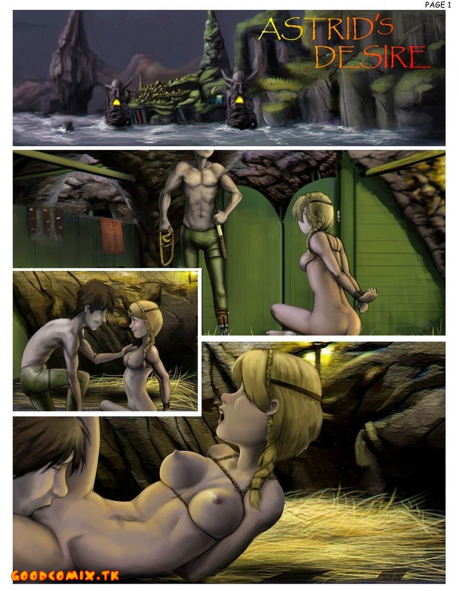 Goodcomix How to Train Your Dragon - My Love Astrid xxx porno