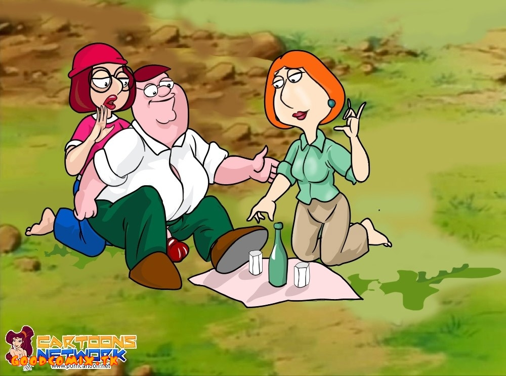 Goodcomix Family Guy - [Cartoons Network] - Nature and Alcohol