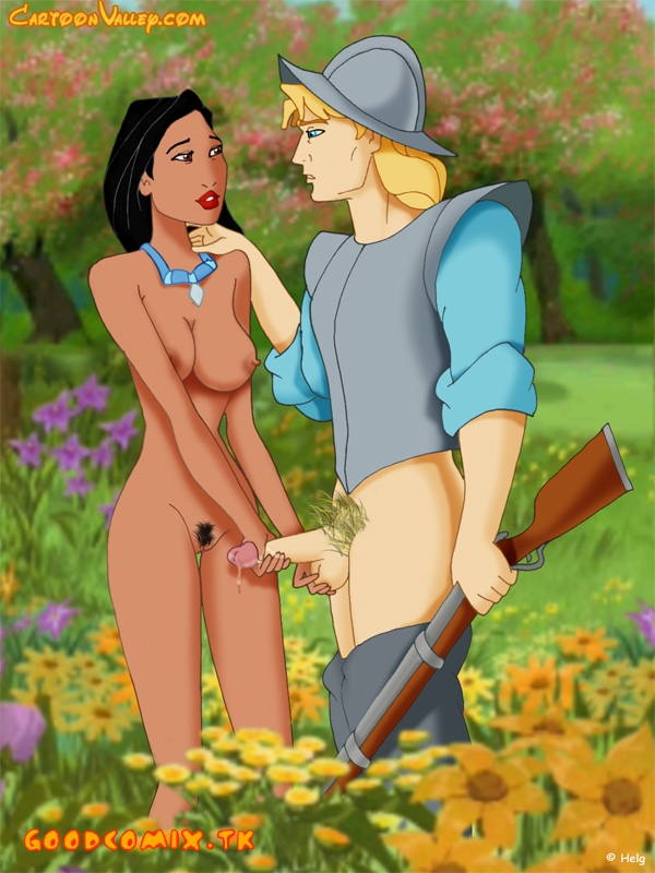 Pocahontas met with John Smith-01