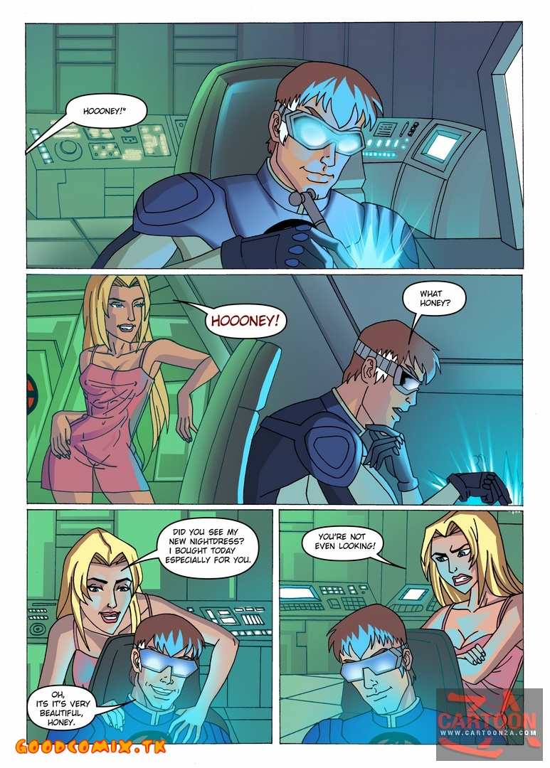 Goodcomix Fantastic Four - [Cartoonza] - Sex at Work