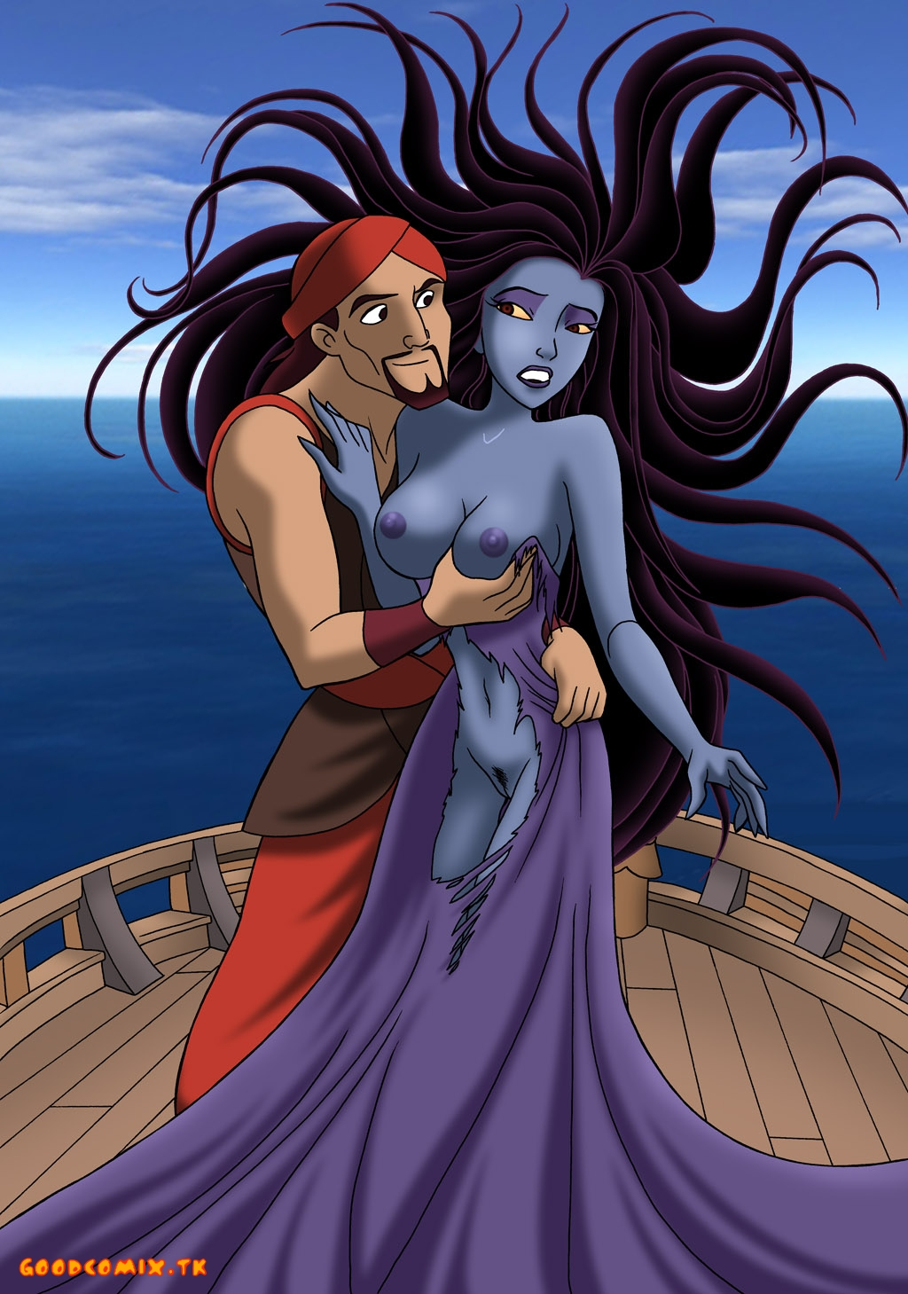 Goodcomix Sinbad Legend of the Seven Seas - [Palcomix] - Sinbad and Eris xxx porno