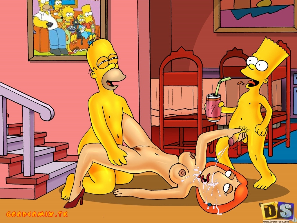 Goodcomix The Simpsons - Family Guy - [Drawn-Sex] - Swingers Party xxx porno