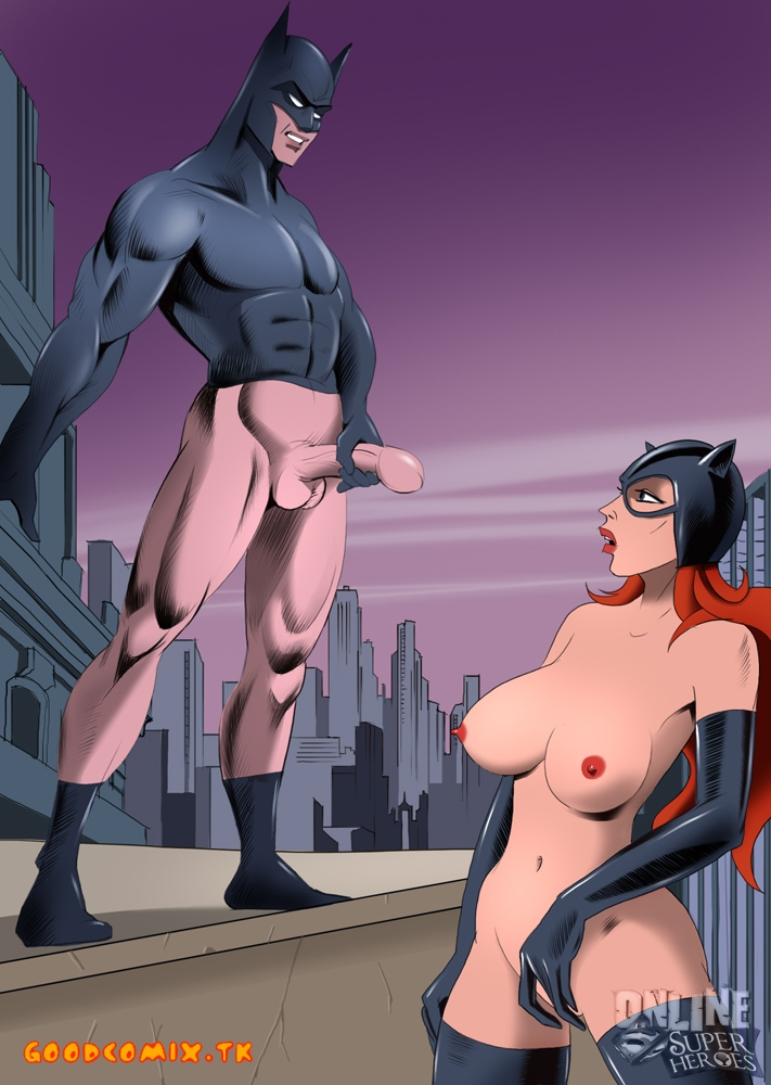 cartoon nude Batman