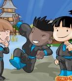 Shuriken School — [Comics-Toons] — Daily Training