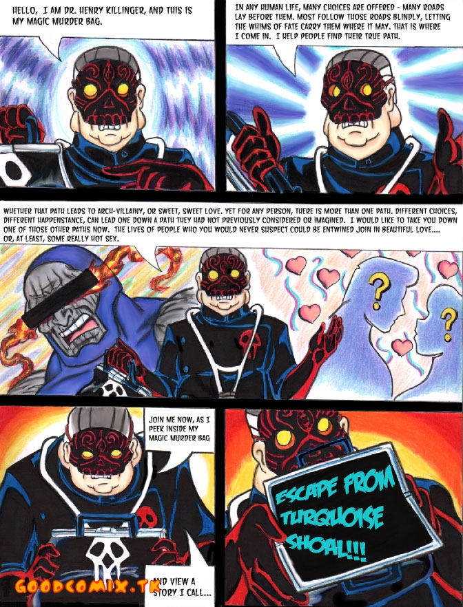 Goodcomix The Venture Bros - [Taigan] - Escape From Turquoise Shoal