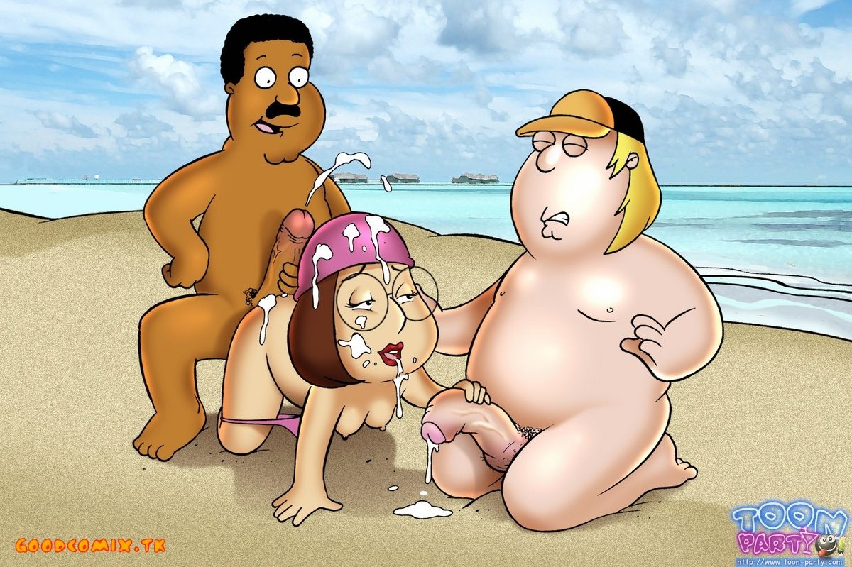 Goodcomix Family Guy - [Toon Party] - Fun On The Beach xxx porno