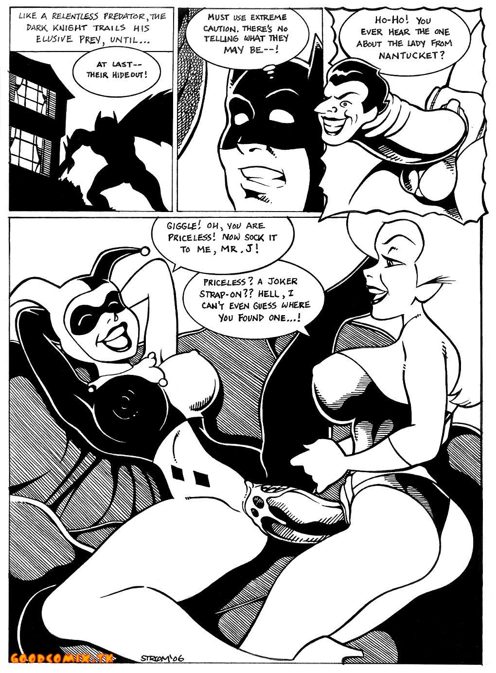 Goodcomix.tk Batman - [Frank Strom] - Harley X Ivy xxx porno