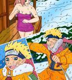 Naruto — [Drawn-Sex] — Hot Winter Night