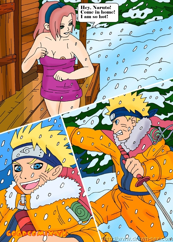Goodcomix Naruto - [Drawn-Sex] - Hot Winter Night