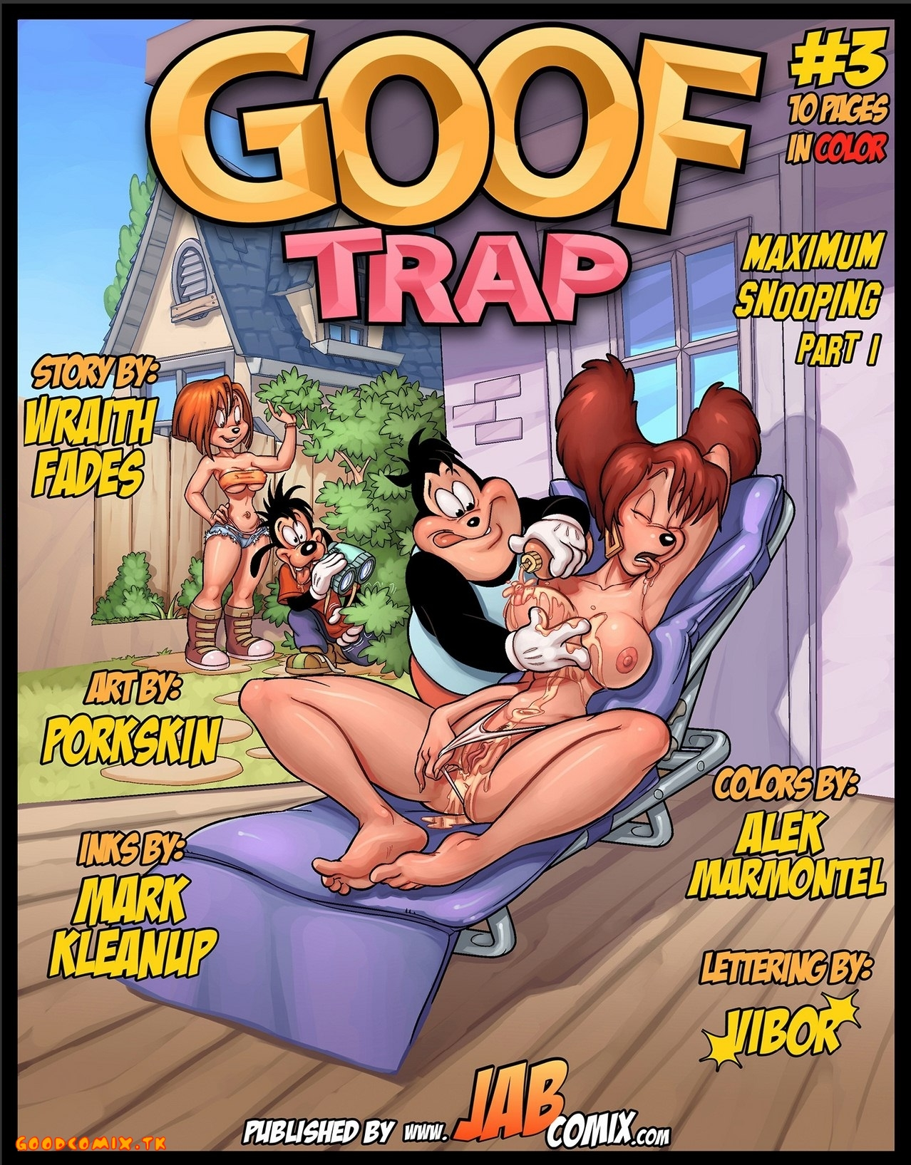 Goodcomix Goof Troop - [JabComix] - Goof Trap 3 - Maximum Snooping