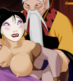 Mulan — [CartoonValley] — Mulan has a hot date with the Emperor!