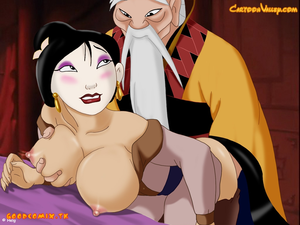 Goodcomix Mulan - [CartoonValley] - Mulan has a hot date with the Emperor!