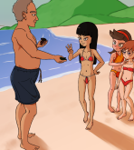 Phineas And Ferb — Part-Time At The Beach xxx porno