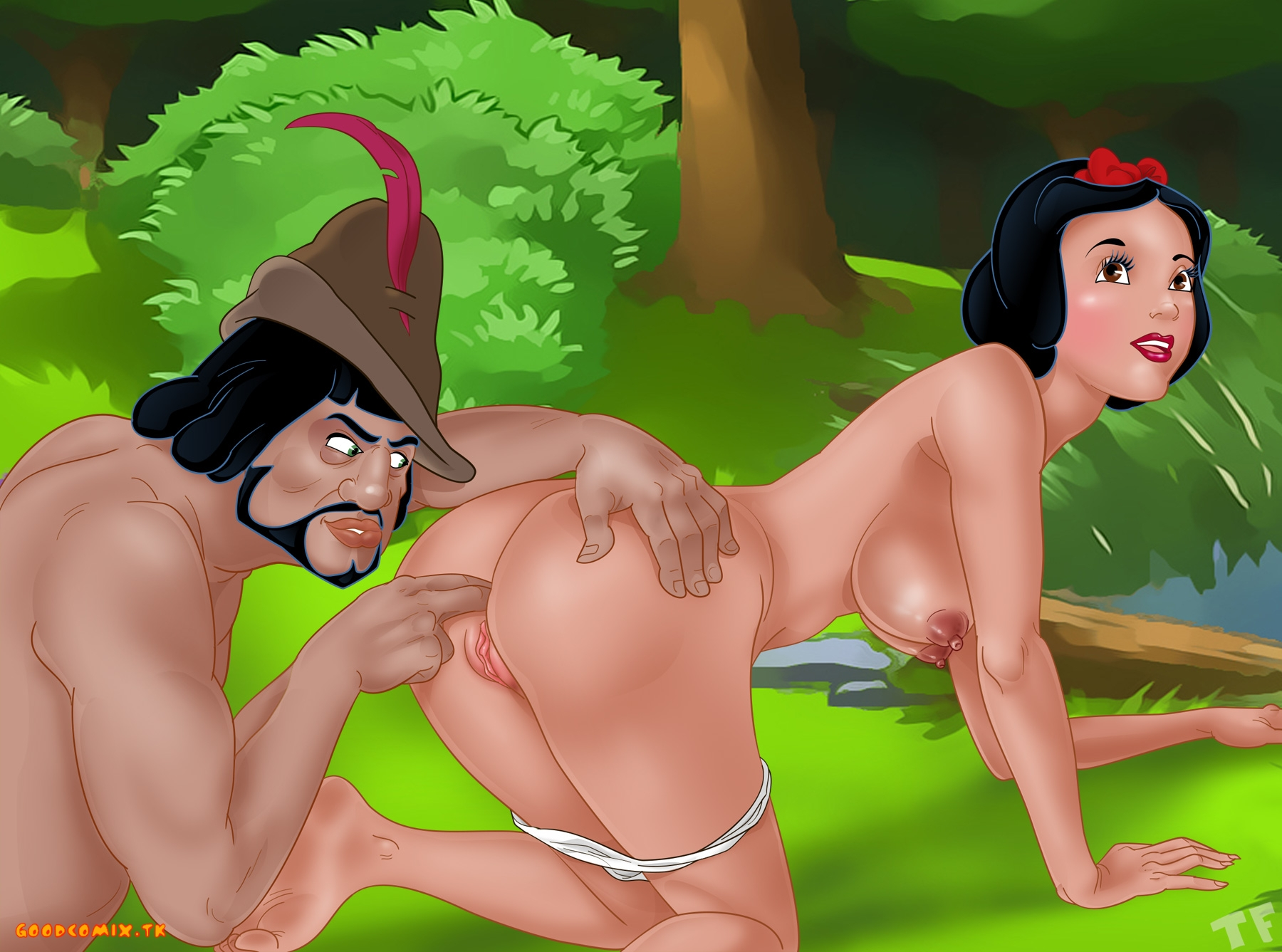Goodcomix Snow White - [TitFlaviy] - Snow White and The Huntsman