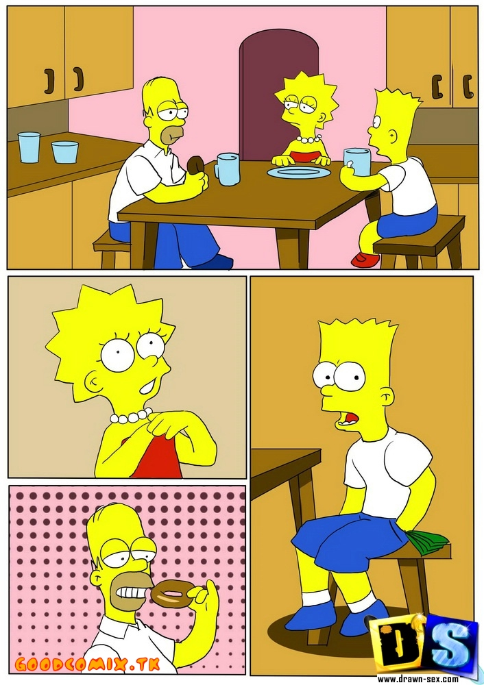 Goodcomix The Simpsons — [Drawn-Sex] — Imagine That Nothing Had Been
