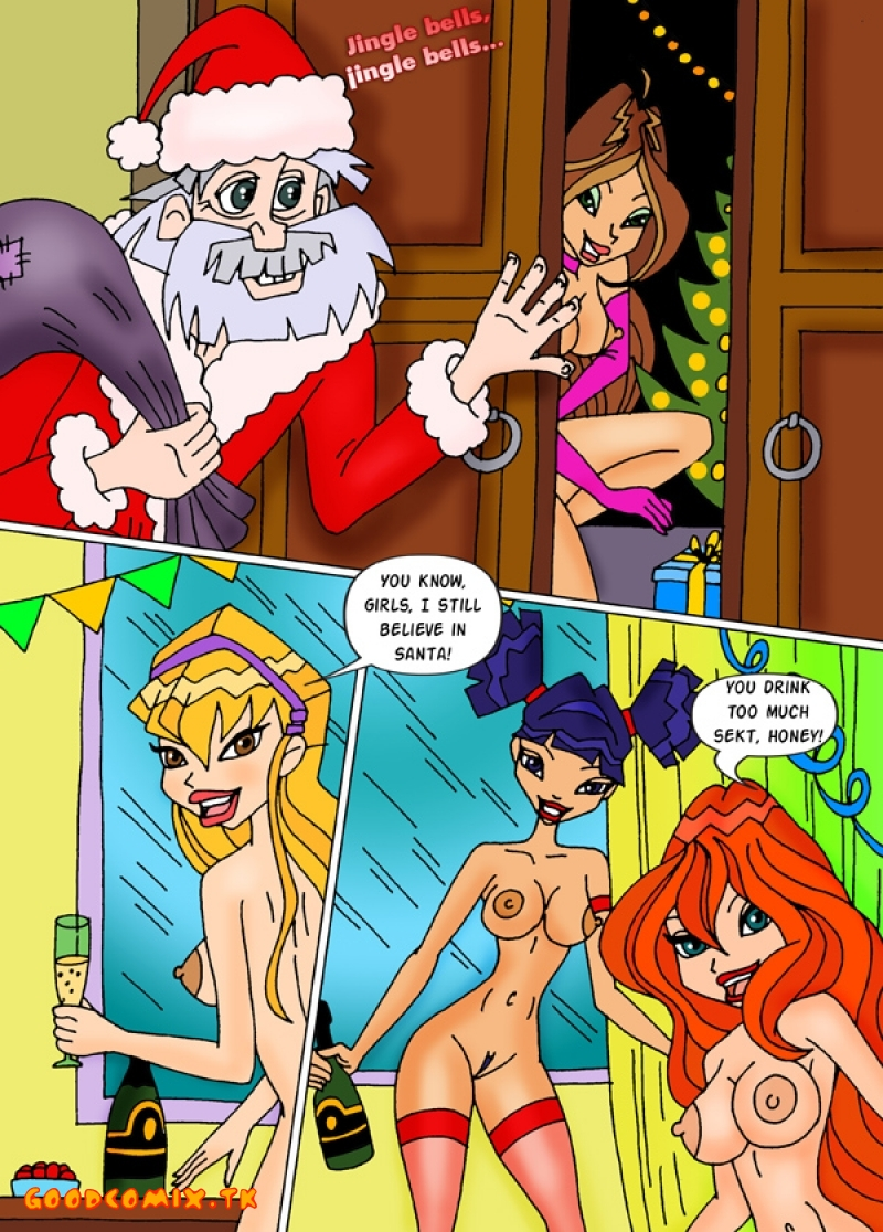 Winx Club - WinXmas Party xxx porno