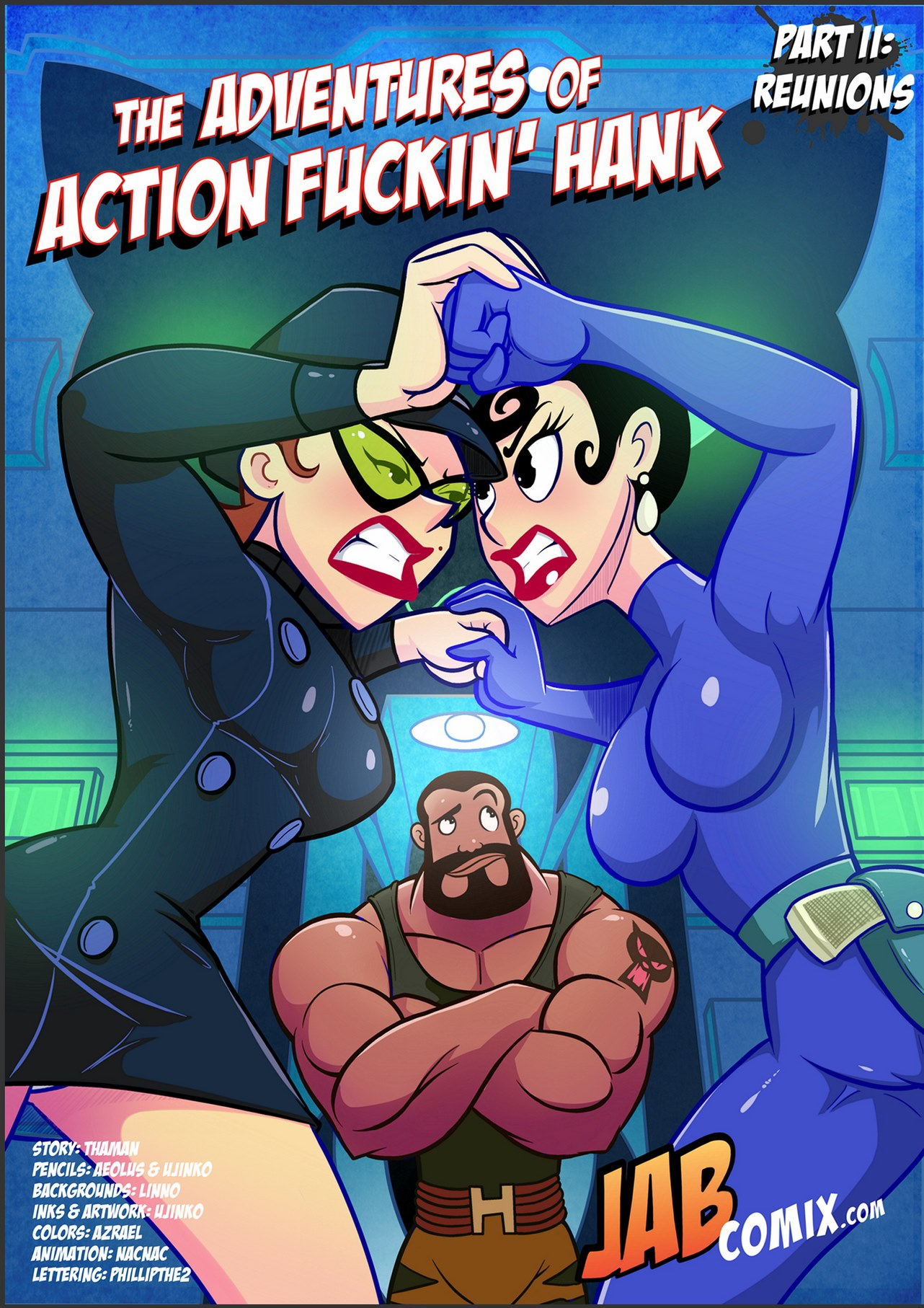 Goodcomix Dexter's Laboratory - [Jabcomix] - The Adventures Of Action Fuckin Hank Part.2 xxx porno