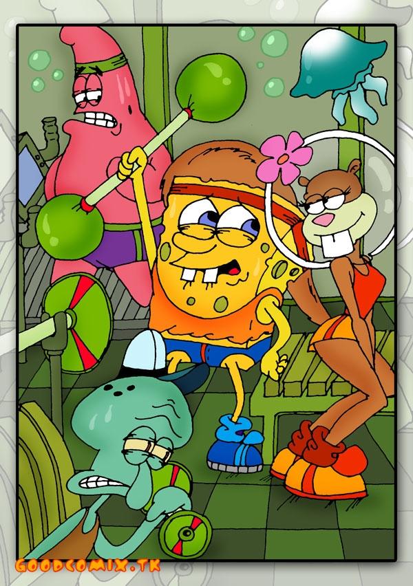 Goodcomix SpongeBob SquarePants - [Drawn-Sex] - Sandy In The Gym