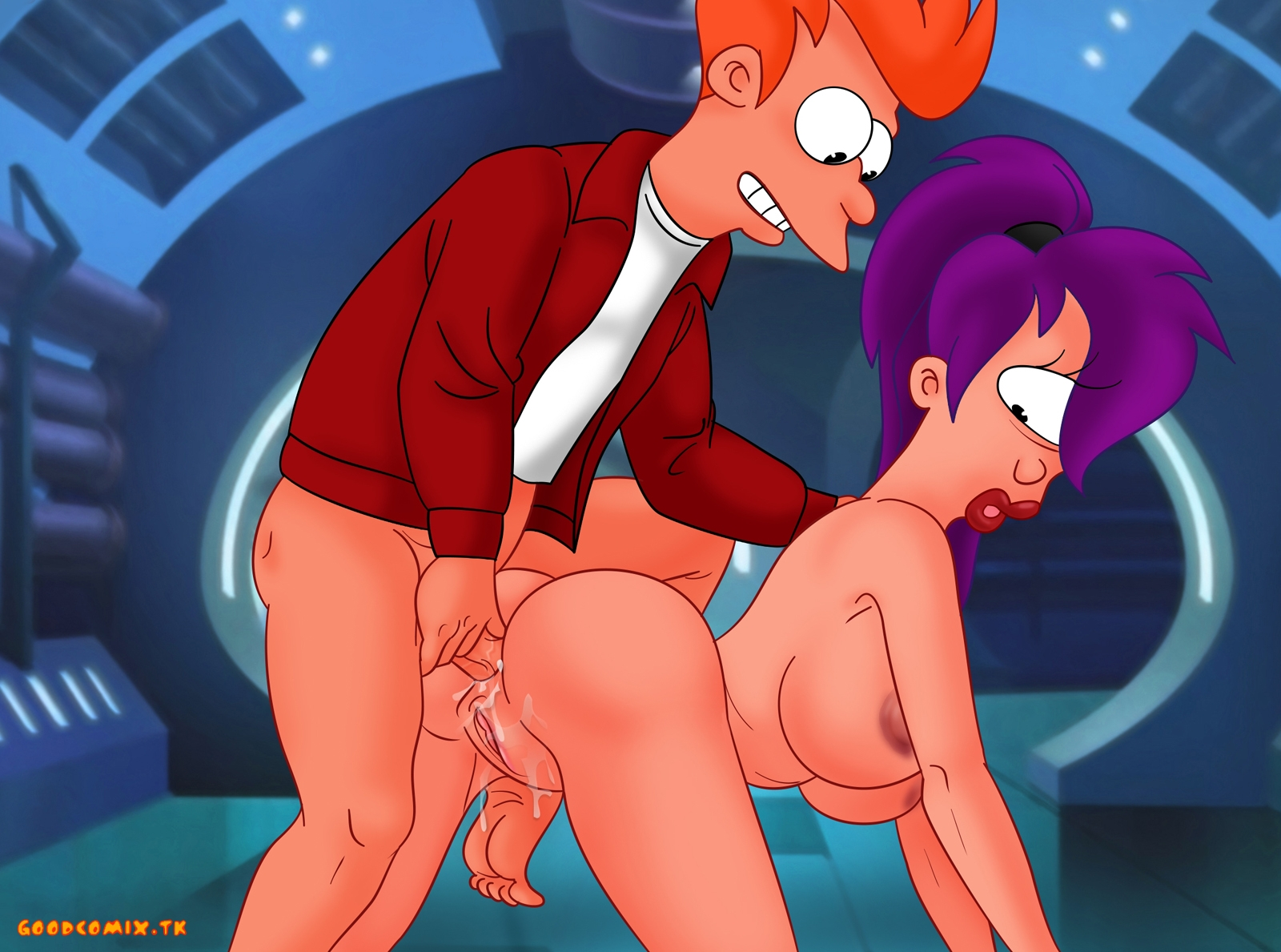 Goodcomix.tk Futurama - [XL-Toons] - Piss