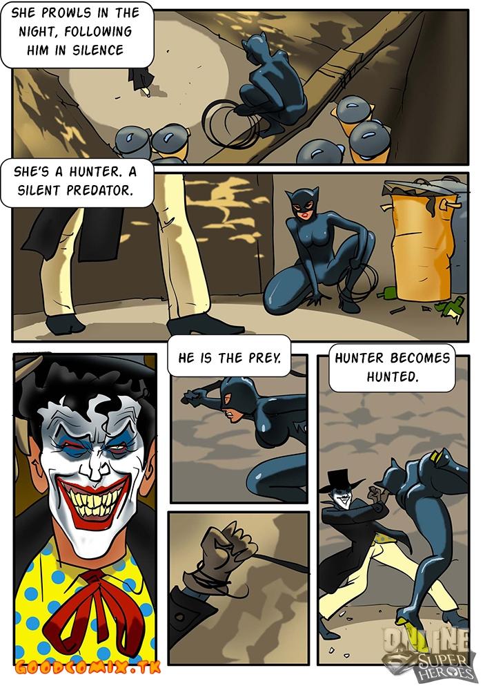 Goodcomix Batman - [Online SuperHeroes] - Catwoman Joker And Batman