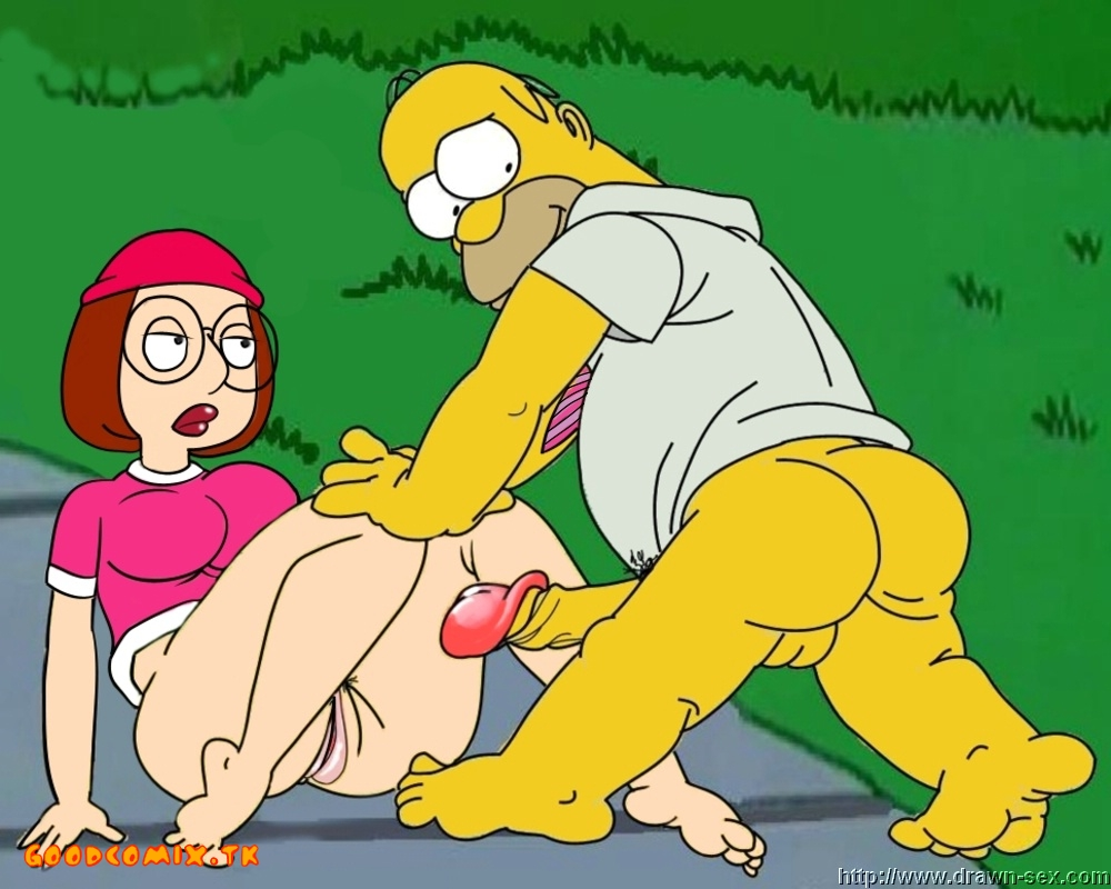 Goodcomix The Simpsons - Family Guy - [Drawn-Sex] - Simpsons vs. Family Guy