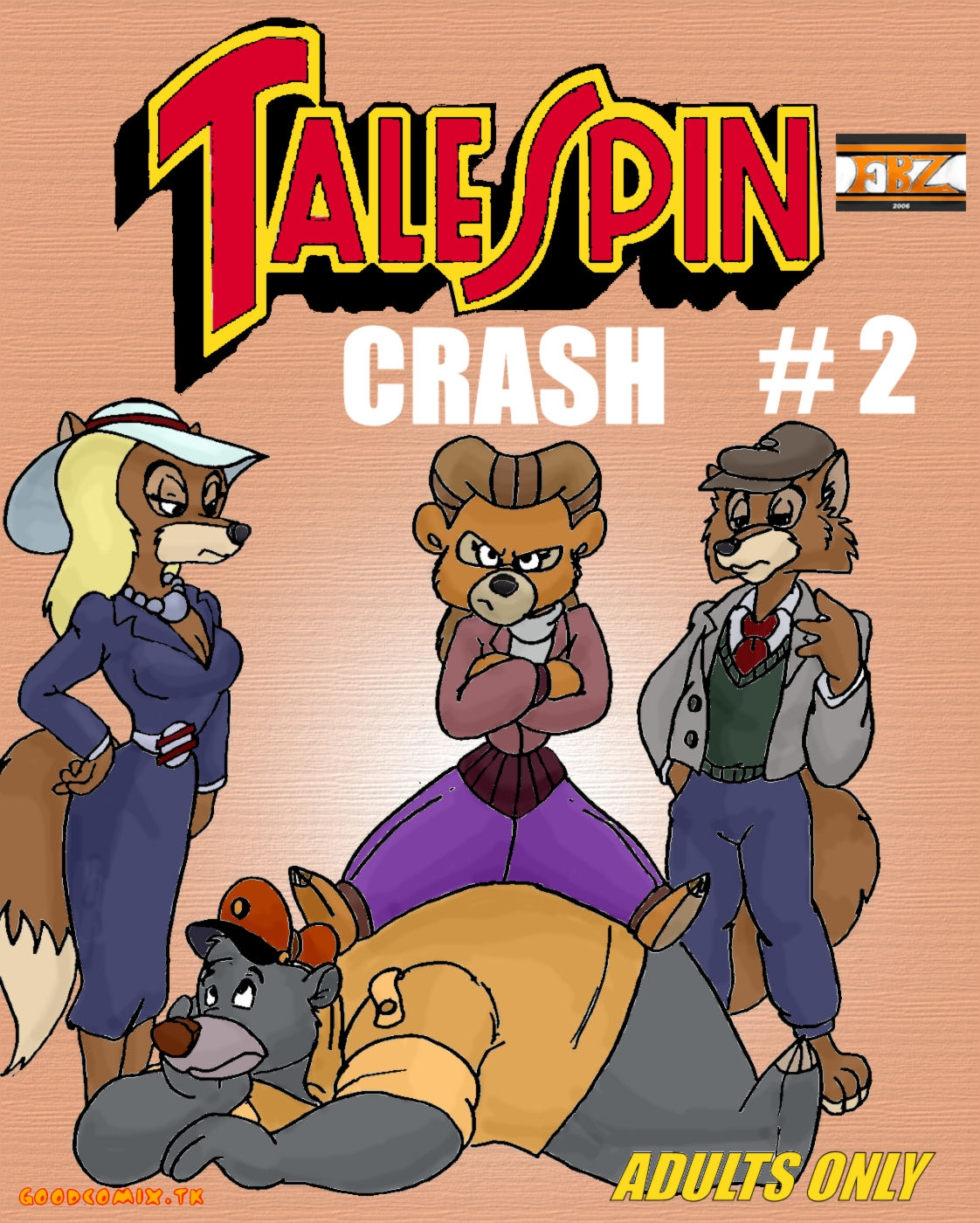 Goodcomix TaleSpin - [FBZ] - Crash.2