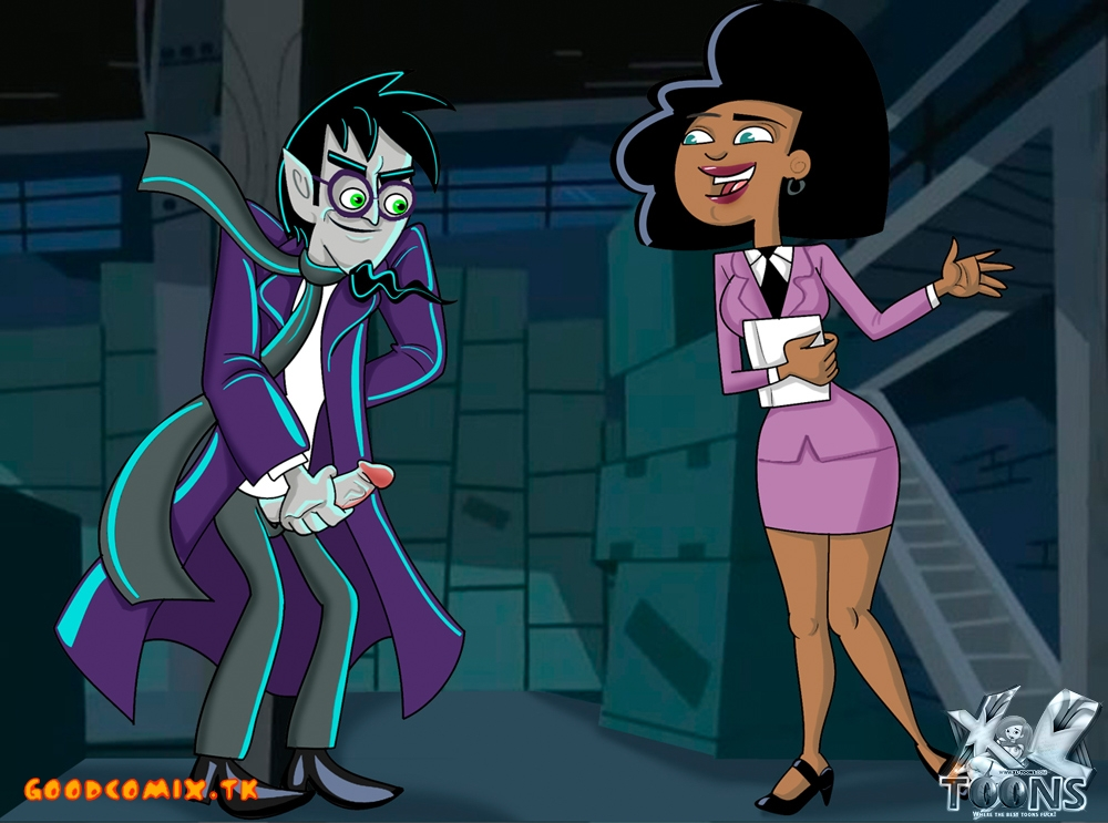 Goodcomix.tk Danny Phantom - [XL-Toons] - Ghost Writer & Connie