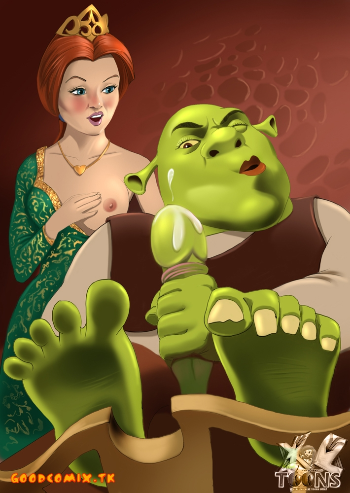 Goodcomix.tk Shrek - [XL-Toons] - Shrek And Fiona