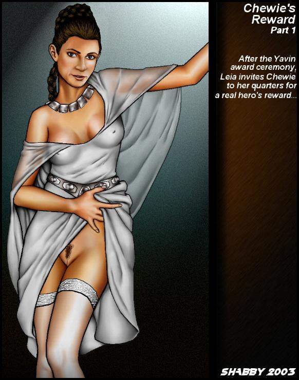 Goodcomix Star Wars - [Shabby Blue] - Chewie's Reward - Part.1 (Movie)
